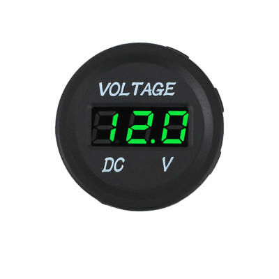 LED Panel DC12V Car Motorcycle Digital Voltage Socket Meter Gauge Voltmeter Boat