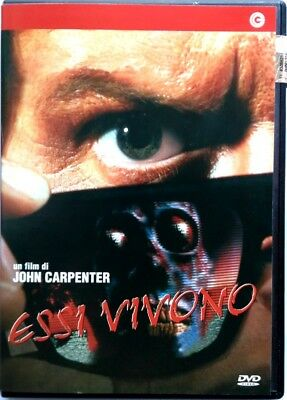 Dvd They live by John Carpenter 1988 Used