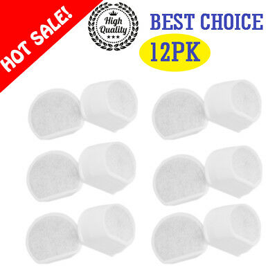 12 Pack Replacement Petsafe Drinkwell Pet Fountain Charcoal Filters PAC19-14088