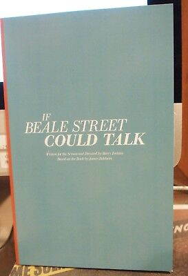 If Beale Street Could Talk~2018 Fyc Script Screenplay~New Soft Cover Book