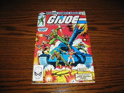 Marvel - G.I. JOE #1 Issue Comic!! Glossy FN  1982  FIRST PRINT