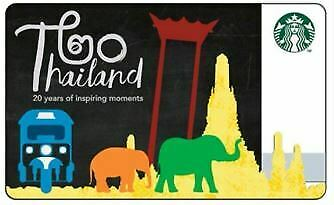 """Starbucks Card Thailand Collection """"20 year of inspiring moment"""" with sleeve"""