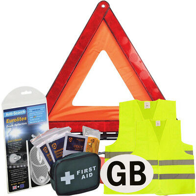 New Euro European Travel Kit Legal & Recommended Items For Driving In Austria
