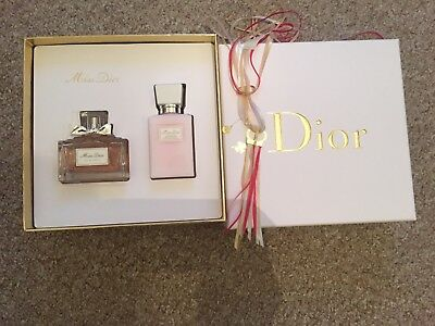 bd62e4914ef MISS DIOR EAU De Parfum 50ml Gift Set Original  Brand New  - £47.00 ...