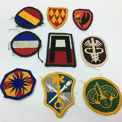 Army Patch Lot FORSCOM, Medical, AAMDC, 1st, 3rd, 13th, Training Security ++