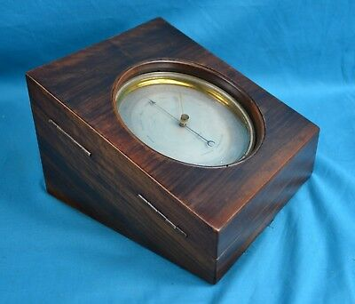 Fine Quality Lucien Vidi Aneroid Barometer Sold By EJ Dent In Velvet Lined Case