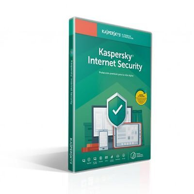 Antivirus Kaspersky Internet Security 2019 - 1 Licencia / 1 Año Attached - No Cd