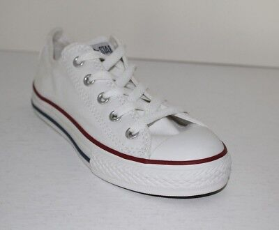 9d98711dad54 CONVERSE CHUCK TAYLOR All Star OX Boys Girls Optical White Youth Sneakers  Shoes