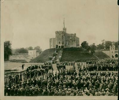 Cathay's Park, Cardiff - Vintage photo
