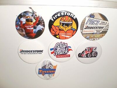 7 Bridgestone/Firestone Tire Magnets