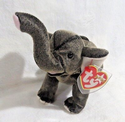 d8202fb9823 TY Beanie Baby - 2000 Trumpet The Elephant 8.5 in - NEW WITH TAGS FREE