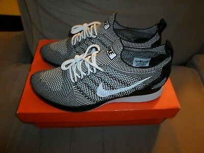 free shipping 65c99 8910f ... Nike Air Zoom Mariah Flyknit Racer Oreo size 10 White Black shoes  918264 102 meet 584a5 ...