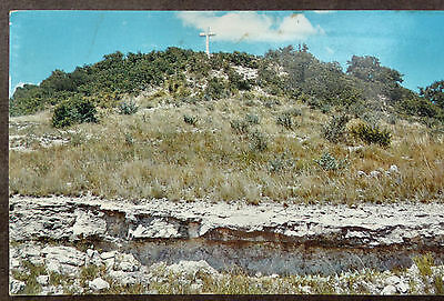 Church Service Held on Cross Mountain Fredericksburg TX to Watch for the Enemy