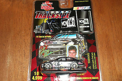 Jerry Nadeau Autographed #9 Wcw Nwo Trackside Racing Champions 1:64 Scale (58)