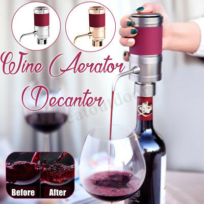 Portable Red Wine Aerator Bottle Topper Pourer Home Party Decanter Pour