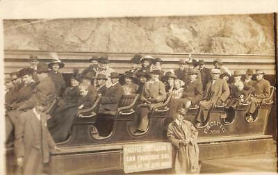 RPPC Pacific Sightseeing San Francisco Cliff House Photo c1910s Vintage Postcard