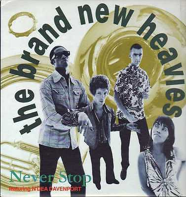 "12"" Us**the Brand New Heavies - Never Stop (Delicious Vinyl '91)***6047"