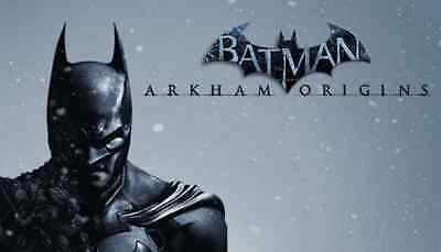BATMAN ARKHAM ORIGINS (REGION FREE for PC) + BONUS GAME