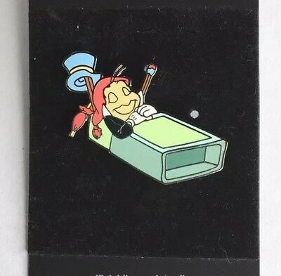 Disney WDW DLR Jiminy Cricket Sleeping In A Matchbox Match Box Pinocchio Pin New