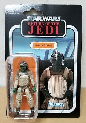 "HASBRO STAR WARS VINTAGE COLLECTION 3.75"" inch KLAATU(SKIFF GUARD) ACTION FIGURE"