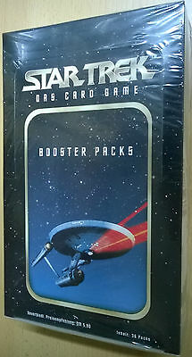 Star Trek TOS Das Card Game Booster Box (Mint, Sealed)