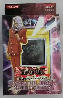 YuGiOh - Yu-Gi-Oh - Maximillion Pegasus Starter First Edition GER (Mint, Sealed)