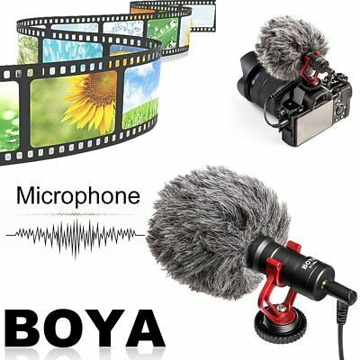 BOYA BY-MM1 Cardiod Shotgun Microphone MIC Video for Smartphone Camera HJ