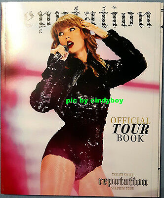 Taylor Swift Programm Tourbook Program Tour Buch Reputation 2018 No Promo CD