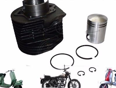 New Lambretta Cylinder Barrel With Piston Kit Li 175 Scooters