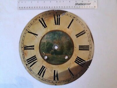 American Wall Clock 12 inch Painted Dial taken from Ansonia clock
