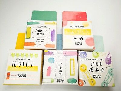 Japan Washi Tape Tools Memo Label To Do List  Folder Tags 15mmx7m MT119