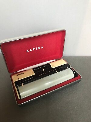 Alpina Mechanical Calculator, 1960-61, Germany, Rare Piece, Perfect Condition