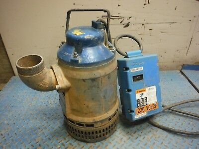 "Used Flygt 2066.171-0508 2.4 Hp Single Phase 3"" Submersible / Dewatering Pump!"