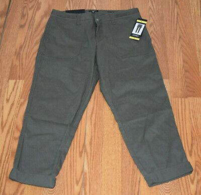 NWT Womens JONES NEW YORK The Chino Rustic Olive Roll Ankle Jeans Pants 4