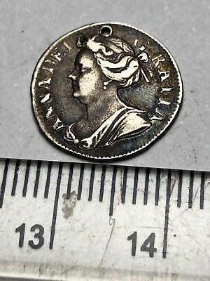 1706 Queen Anne Silver Twopence (B203)