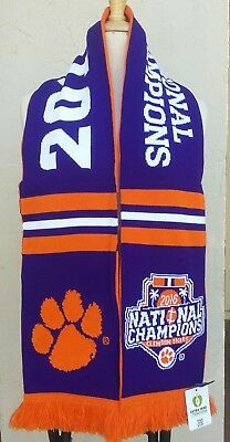 Clemson Tigers 2016 College Football National Champions Scarf  CFP