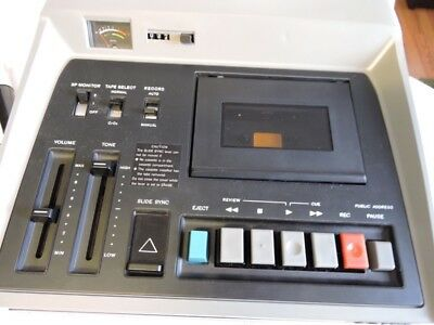 Sony TC-182 Class Room Cassette Player Recorder