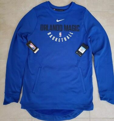 107f1ab6d New Nike NBA Orlando Magic Long Sleeve Pullover Men s Medium Tall NWT  Authentic