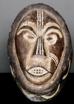 Vintage Tribal  Fang Ngil Society Mask   --Gabon BN 40