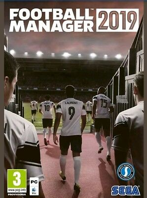 Fm19 Football Manager 2019 Pc Originale- Italiano - Steam - Fm 19 + Fm 19+Editor