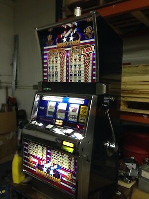 IGT S2000 Red White Blue Double Stars SLOT MACHINE