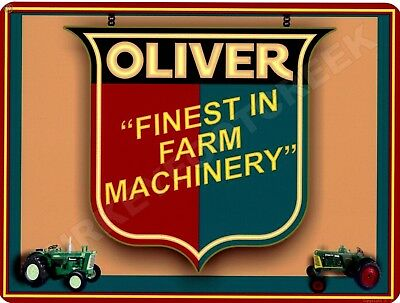 """OLIVER TRACTOR FINEST  9"""" x 12"""" Sign"""