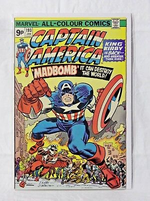 Marvel Captain American & The Falcon - Series 1 - Issue 193 - Pence - Vf
