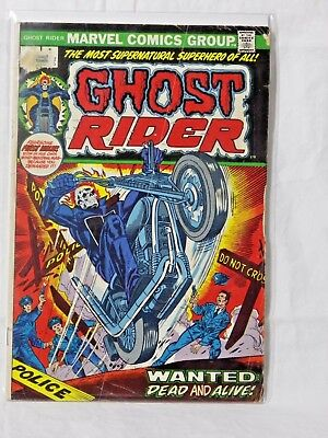 Marvel Ghost Rider - Series 1 - Issue 1 - Gd/fn
