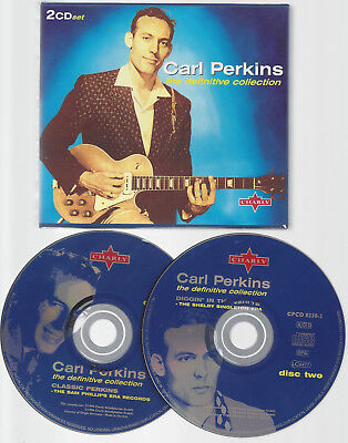CARL PERKINS The Definitive Collection - 2 CD Set of 58 Sun Records Tracks 1998