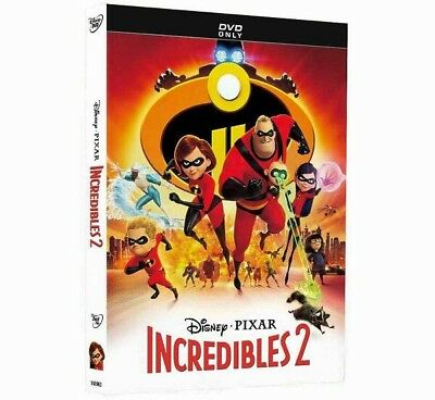 The Incredibles 2 DVD  New Sealed Disney Pixar Sealed Ships Fast
