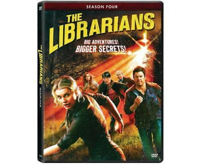 The Librarians Season Four TV Series DVD New Sealed US Seller Rebecca Romijn