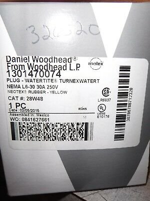 Woodhead 28W48 Watertite Plug new