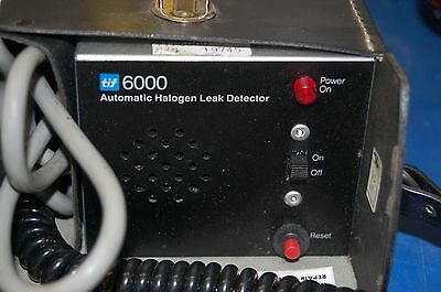 TIF 6000 Automatic Halogen Leak Detector (In leather carrying custodia)