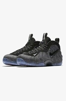 801e1ae2fa5 ... netherlands nike foamposite pro tech fleece wool dk grey heather black  size 8 624041 007 8c1a1